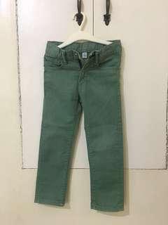 Gap kids 1969 Skinny Jeans ( green )
