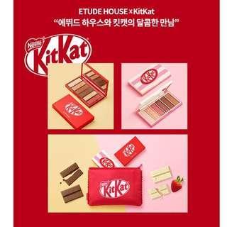 🚚 [INSTOCK] Etude House KitKat Play Colour Eyes Mini Eyeshadow Kit