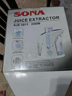 🚚 Juice extractor