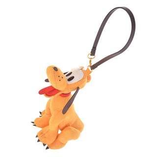 日本 Disney Store 直送 Pluto 布魯圖絨面掛袋公仔掛飾