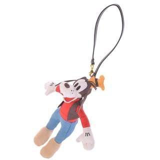 日本 Disney Store 直送 Goofy 高飛絨面掛袋公仔掛飾