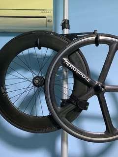 Aerospoke and 88mm rear wheelset