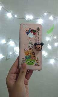 #bersihbersih Soft Case Vivo V7 Disney Tsum Tsum