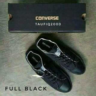 Freeongkir Converse fullblack