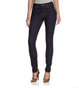 Levi's Dark Rinse Highrise Skinny Jeans size 25