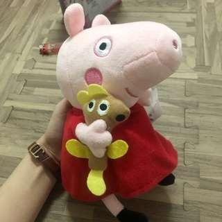 🚚 佩佩豬中型娃娃 玩偶(全新)