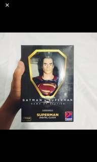 Petron Batman VS Superman Dawn of Justice Superman Digital Clock