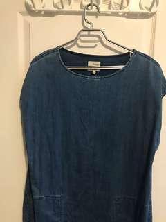 Aritzia Jean T-shirt Dress