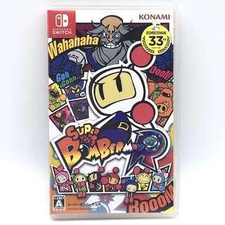 (中古) 原裝日版 Nintendo Switch NS Game Bomberman 炸彈人 動作遊戲