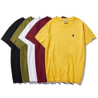 Tshirt Bape mini logo one point 19SS