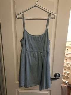 Light Blue Tank Dress
