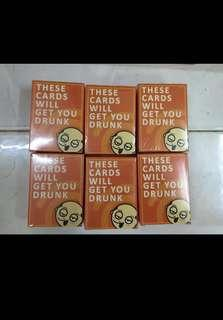 [Instock] These cards will get you drunk