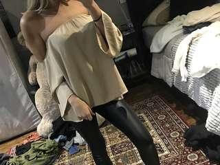 Beige long sleeve