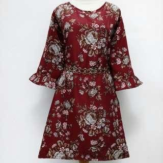 Flower Dress woman