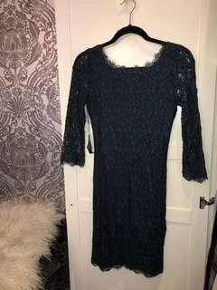 Aritzia Green Lace Dress BNWT