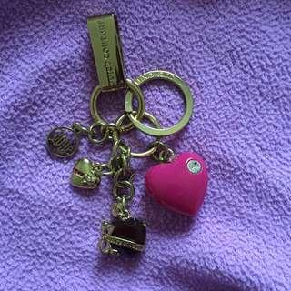Authentic Juicy Couture Keychain