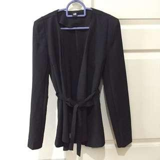 Black Wrap Jacket