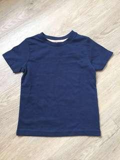 BN toddler Navy blue t-shirt