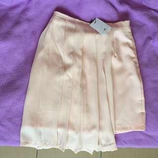 Nine2Five Geraldine Side Pleats Skirt