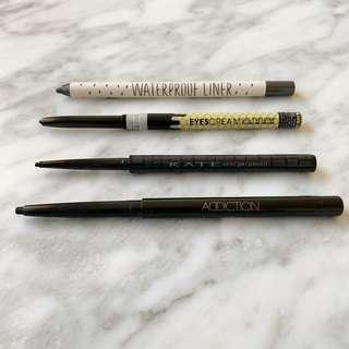 Gel pencil eyeliners $12 each