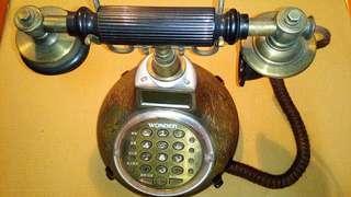 古董電話機,復古電話機,電話,擺飾~復古電話機擺飾(通話功能未測,當一般擺飾品販售)
