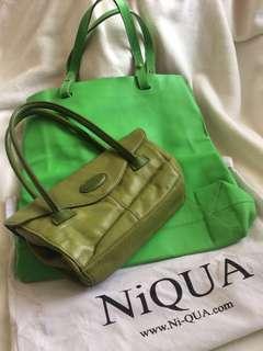 ❤️ PROMO: Bag Duo_Niqua & Tig & Co. Leather Bags (100% Authentic)
