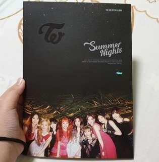 🚚 Twice Unsealed Summer Nights / Dance The Night Away Ver C album