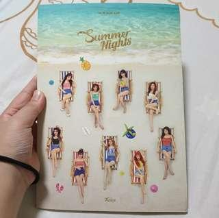 🚚 Twice Unsealed Summer nights / Dance The Night Away Ver B Album