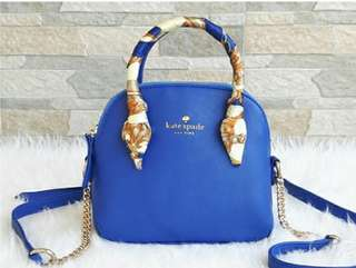 Tas Kate Spade Mini Blue 4df375a693