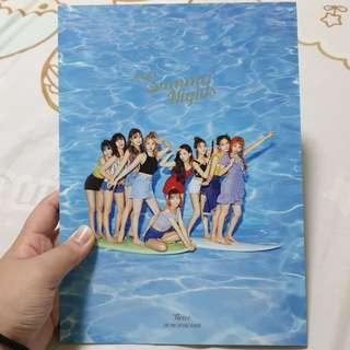 🚚 Twice Unsealed Summer Nights / Dance The Night Away Ver A album