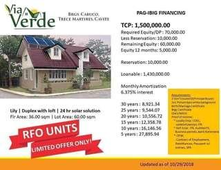 Ready for Occupancy House and Lot Near Tagaytay