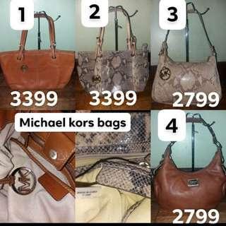 All original mk michael kors bags