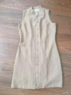 2 for $12 Vinatge brown dress