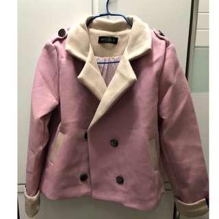 粉紅色 短褸 外套