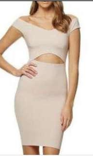 KOOKAI emily dress in nude size 1