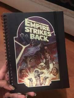 typo notebook A5 star wars