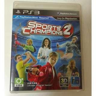 🚚 中文版 運動冠軍2 PS3 Sports Champions 2