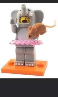 Lego Minifigures Series 18 - Elephant suit girl #TRU50