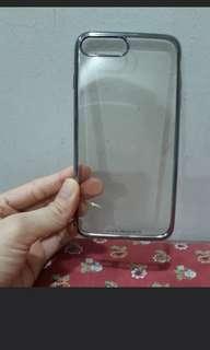 Iphone 7 plus transparent case #TRU50