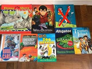 🚚 Assortment of story books for lower primary level