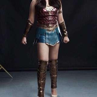Authentic Wonder Woman Costume Cosplay For Rent (New Arrival)