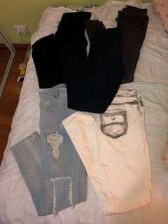 JEANS BUNDLE! 5 FOR $25!
