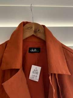 Dotti Burnt Orange Jacket