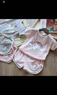 🚚 PO unicorn kids set Wear Brand New Size 100-140cm