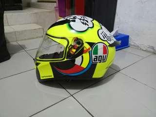 NEW!!! FULL SET HELM AGV seri MISANO ORIGINAL