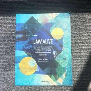 Law Alive - Grant Morris 3rd Edition