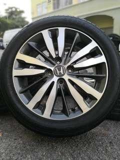 original honda jazz v specs 16 inch sports rim free gift tyre