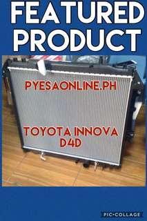Toyota Innova radiator