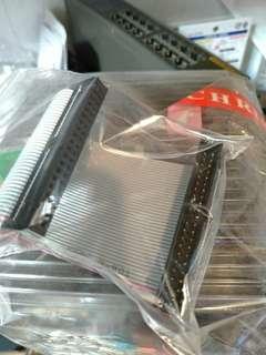 🚚 送咖啡 IDE 訊號延長線 公 母 硬碟 SSD
