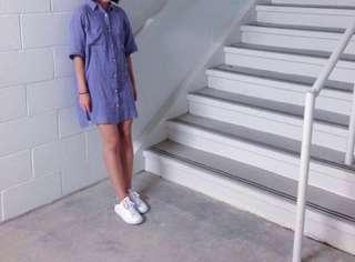 Wilfred free- button up tshirt dress
